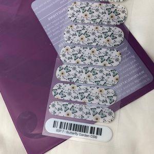 Jamberry nail wraps half sheet Butterfly Garden